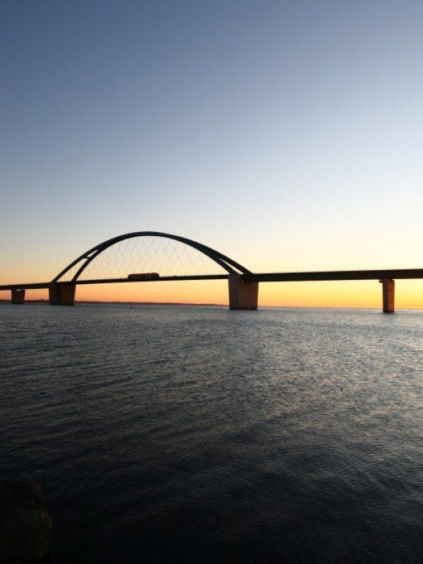 Fotografie Senski Fehmarn Sund Brücke