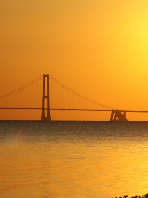 Fotografie Senski Sunset Öresundbrücke